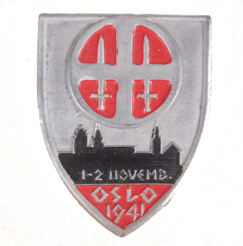 (Norway) Hirdmonstringen badge 1941