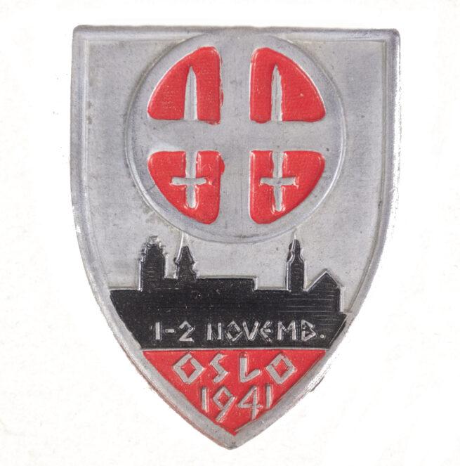 (Norway) Hirdmonstringen badge 1941