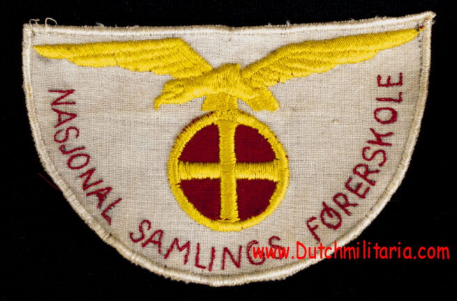 (Norway) Nasjonal Samling Førerskole insignia lot (!) - Extremely rare
