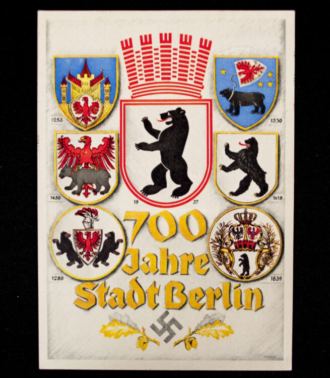 (Postcard) 700 Jahre Stadt Berlin