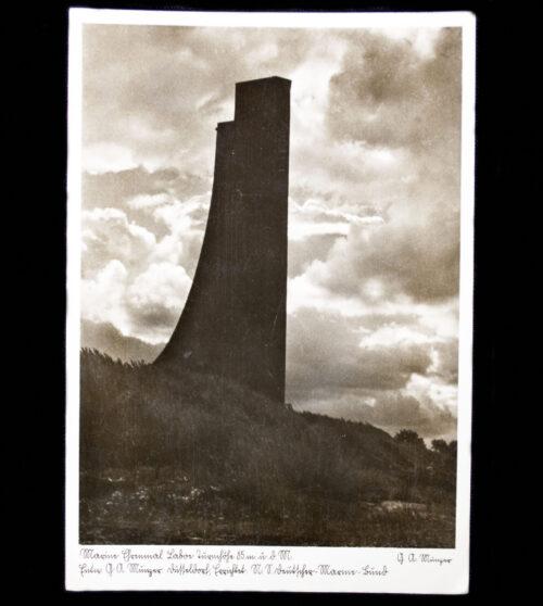 (Postcard) Kriegsmarine Ehrenmal Laboe