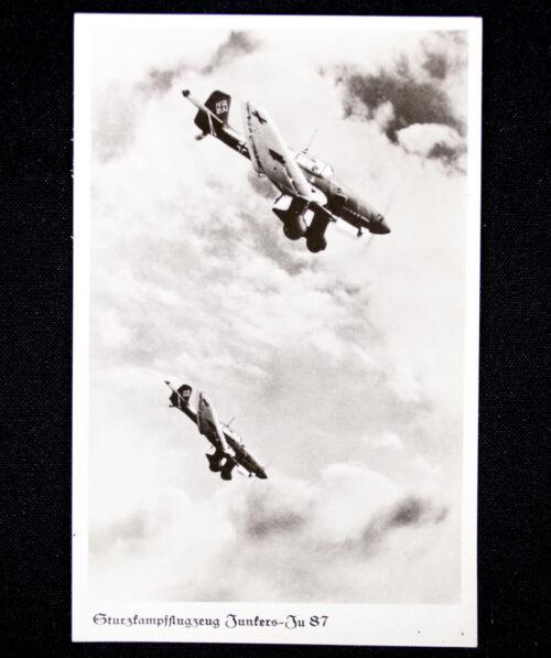 (Postcard) Sturzkampffleugzeug Junkers JU 87