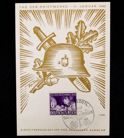 (Postcard) Tag der Briefmarke 1942