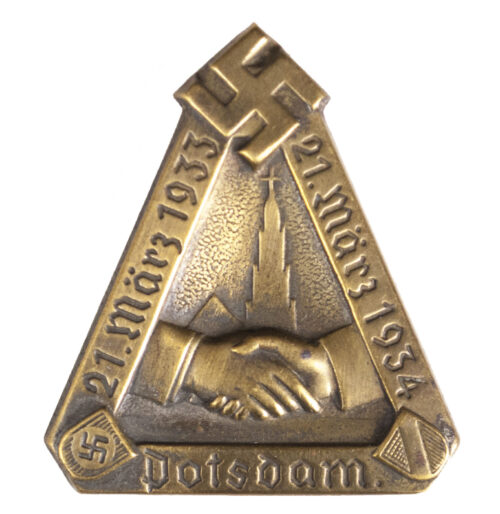 Potsdam 21. März 1933 - 21 März 1934 abzeichen