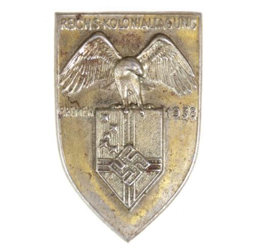 Reichskolonialtagung Bremen 1938 abzeichen