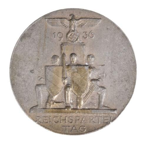 Reichsparteitag 1936 abzeichen (Maker Deschler)