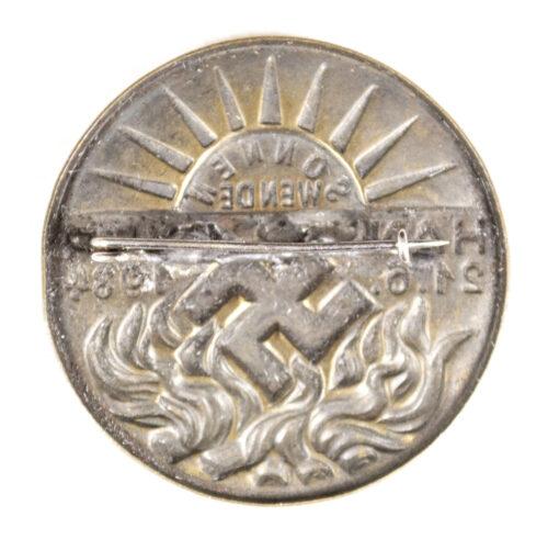 Sonnenwende Hannover 21.6.1934 abzeichen