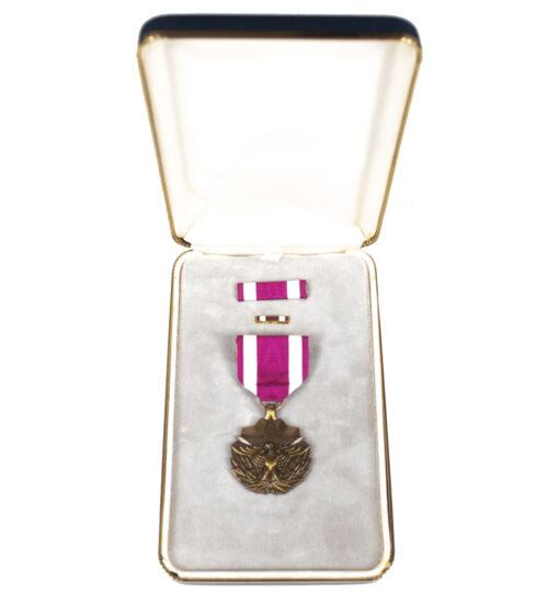 (USA) Meritorious Service medal + case