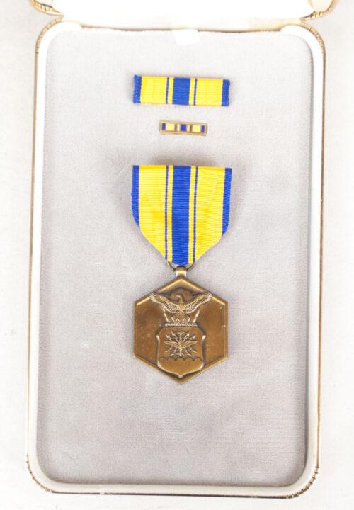 (USA) Military Merit medal + case