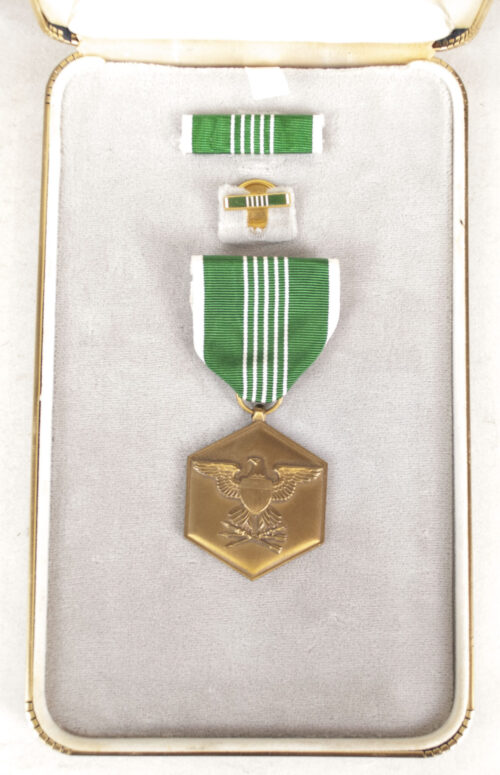 (USA) Military Merit medal in case