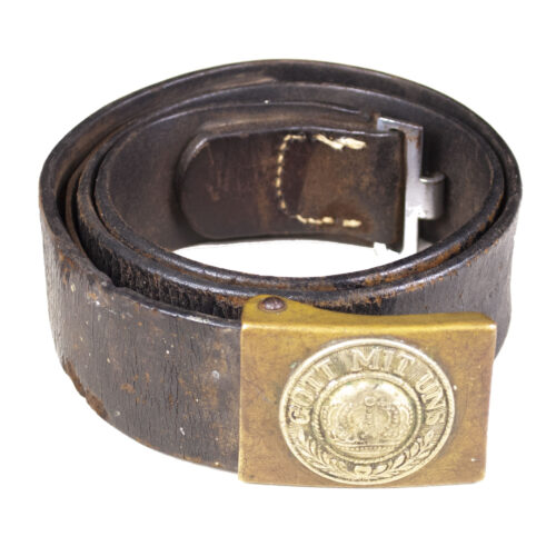 WWI Prussian buckle + belt