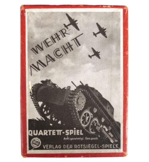 Wehrmacht Quartett Spiel