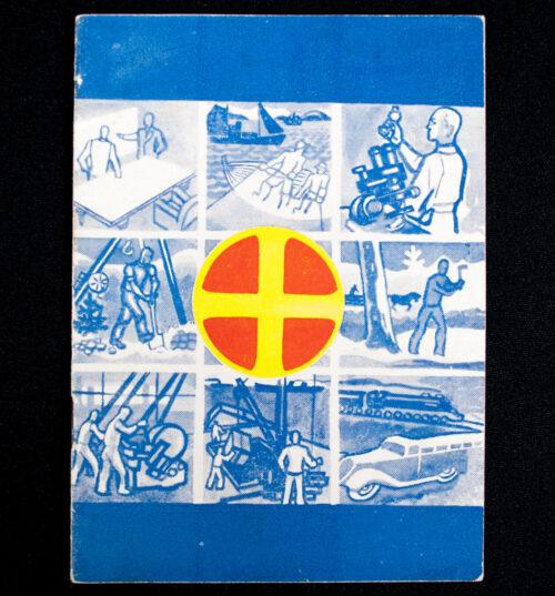 (Booklet Norway) Orden Rettferd Fred. Norge Var Ett Rike - Det Skal Bli Ett Folk!