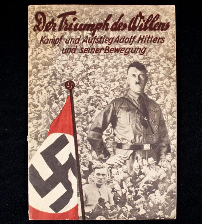 (Brochure) Der Triumph des Willens Kampf und Aufstieg Adolf Hitlers und seiner Bewegung