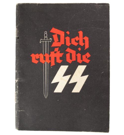 (Brochure) Waffen-SS Recruitment Brochure Dich Ruft die SS