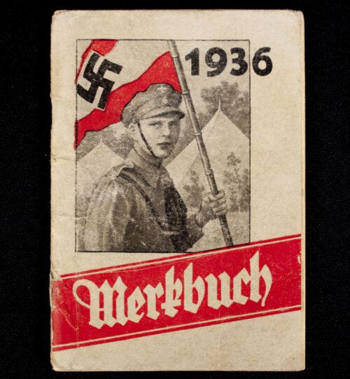 Hitlerjugend (HJ) 1936 Merkbuch