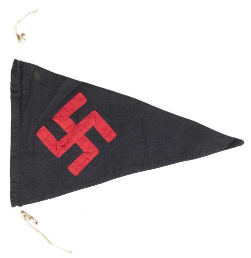 Hitlerjugend (HJ) Bund Deutscher Mädel (BDM) Pennant