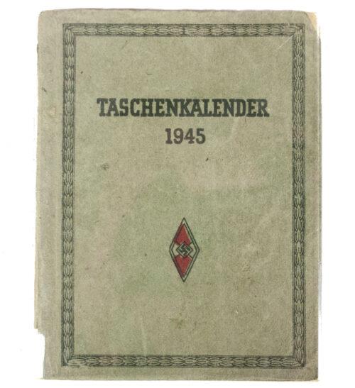 Hitlerjugend (HJ) Taschenkalender 1945 (very rare!)