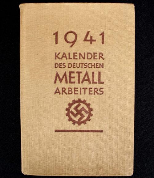 Kalender des Deutschen Metall Arbeiters (1941)