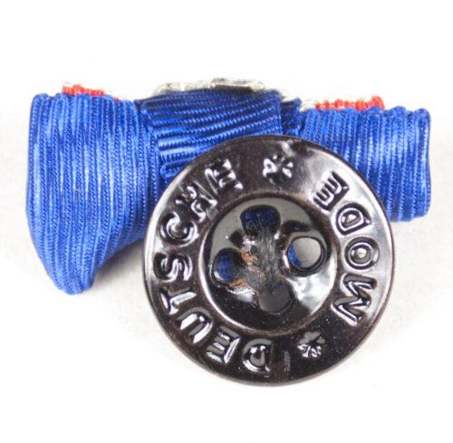 Miniature buttonhole medal with Treue Dienst 25 Jahre cross+ Kriegsverdienstkreuz Ohne Schwerter