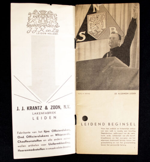 (NSB) 4e Landdag 5 October 1935 brochure (rare!)