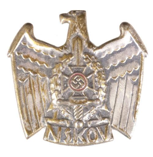 NSKOV Eagle badge (buntmetal)