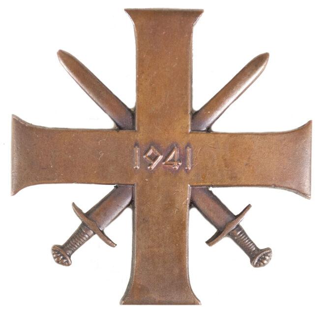 (Norway) Bravery Cross First Class Tapferkeitskreuz 1e Klasse Tapper og Tro 1941