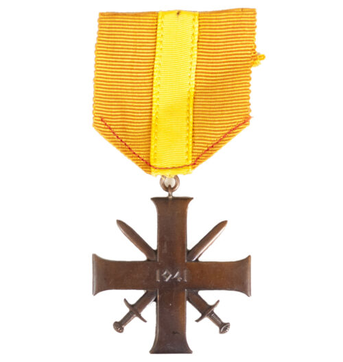 (Norway) Bravery Cross Tapferkeitskreuz Tapper og Tro 1941