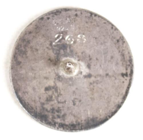 (Norway) Nasjonal Samling badge (Hallmarked and numbered)