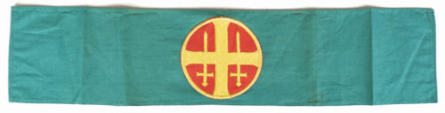 (Norway) Unghird green armband