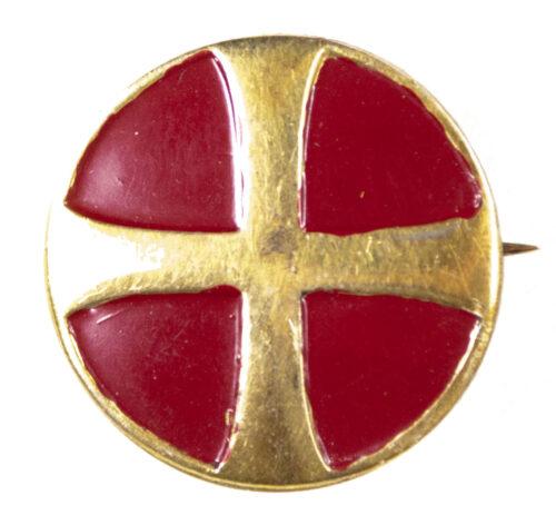 (Norway) Unghirdmarinen badge for young Hird (925 S halmarked)