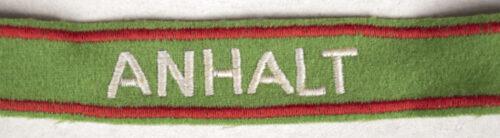 Reichsarbeitsdienst (RAD) ANHALT Commemorative Cufftitle