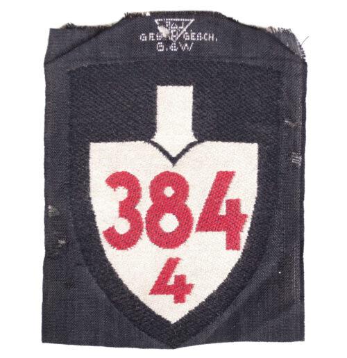 Reichsarbeitsdienst (RAD) shoulder unit patch 3844