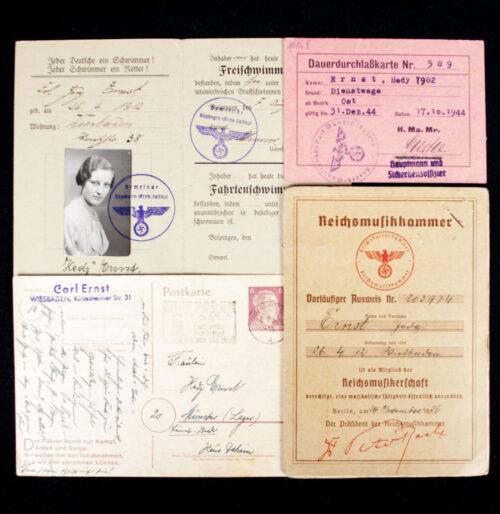 Reichsmusikkammer ausweis group