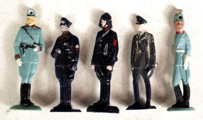Winterhilfswerk (WHW) Complete series Polizeibeamte from the Tag der Deutschen Polizei (1940)