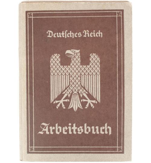 Arbeitsbuch Arbeitsamt Bremen (1935)
