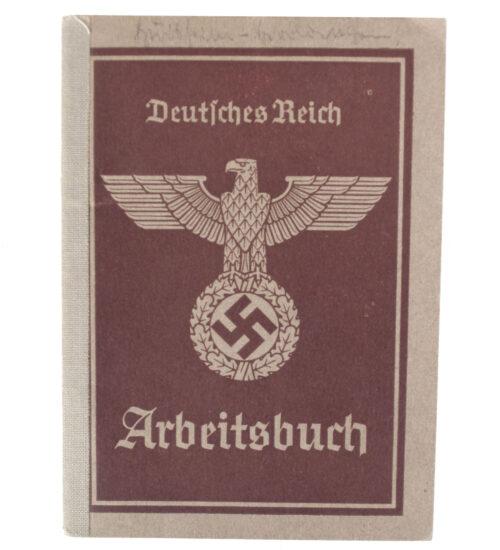 Arbeitsbuch Arbeitsamt Donauwörth (1939)