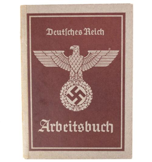 Arbeitsbuch Arbeitsamt Ludwigshafen a. Rh. (1940)