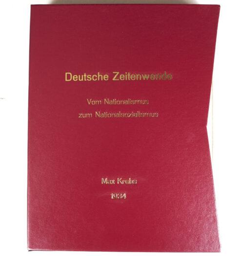 (Book) Deutsche Zeitenwende vom Nationalismus zum Nationalsozialismus (1934)