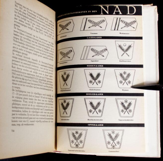 (Book) Nederlandsche Arbeidsdienst (NAD) - Ick Dien with dustjacket (!)
