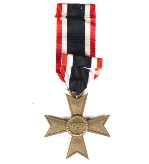 Kriegsverdienstkreuz (KVK) Ohne Schwerter War Merit Cross without swords