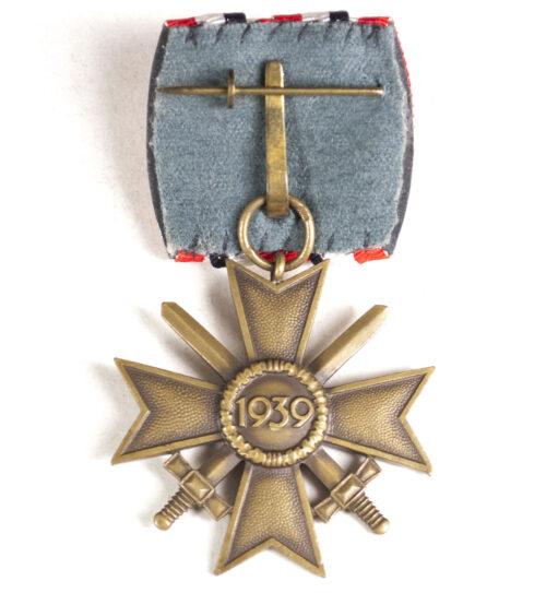 Kriegsverdienstkreuz mit Schwerter (KVK) Einzelspange War Merit Cross with Swords mm 87 (Roman Palme)