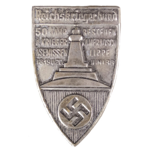 Kyffhäuserbund Reichskriegerbund 50 Jahr Bestehen d. Krieger Kameradsch. Äsemissen Lippe 1938