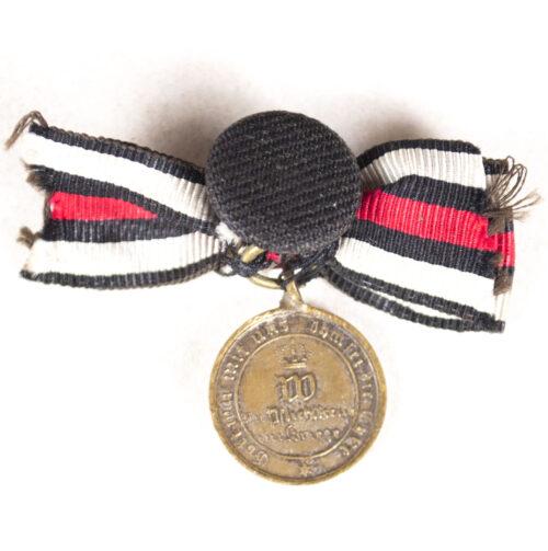 Miniature Kriegsdenkmünze für die Feldzüge 187071
