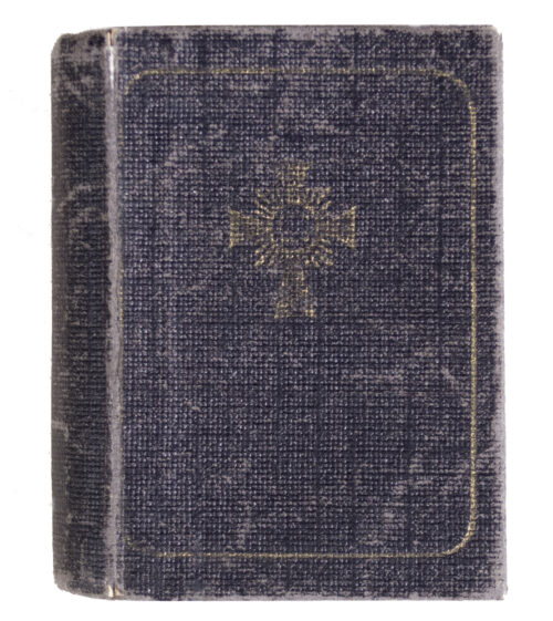 Muuterkreuz Motherscross Halbminiatur case in bookform (Extremely rare!)
