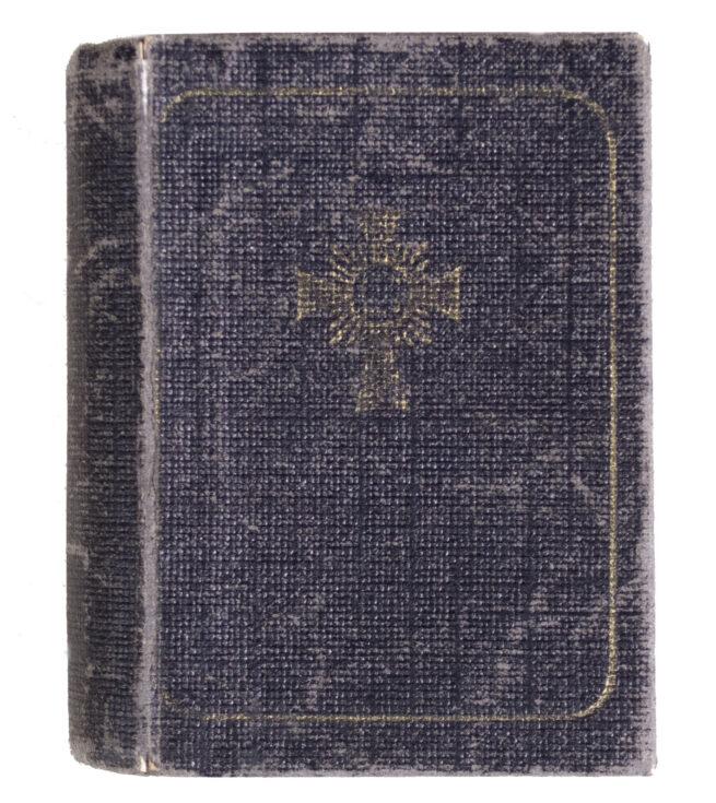Muuterkreuz Motherscross Halbminiatur case in bookform (Extremely rare!)