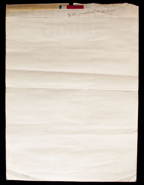 (NSB) Nationale Jeugdstorm - Stormende Jeugd poster