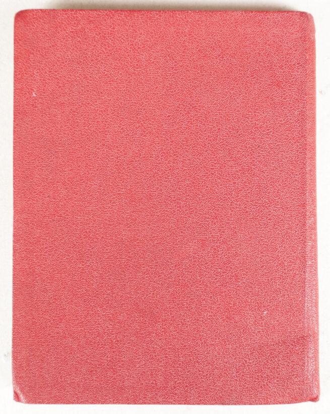 NSDAP Mitgliedsbuch (Memberbooklet)
