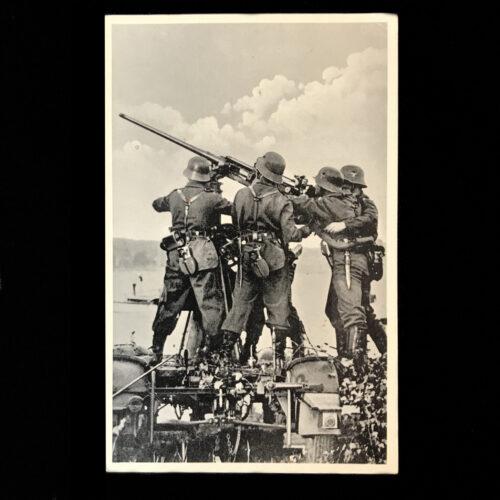(Postcar) Unsere Luftwaffe Abwehr