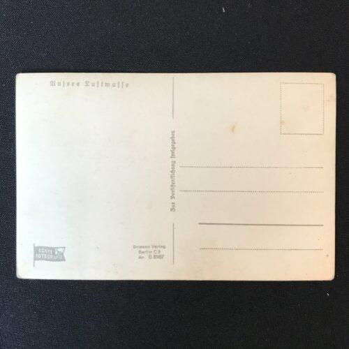 (Postcard) Fallschirmjäger